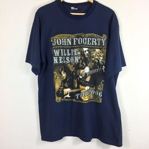 Other - Jonn Fogerty Willie Nelson Tour 2006 XXL